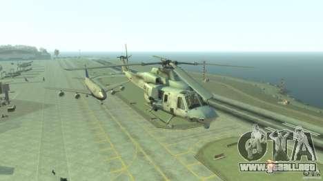 Bell UH-1Y Venom para GTA 4 vista hacia atrás
