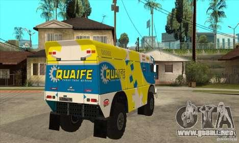 KAMAZ 4911 Rally MASTER para visión interna GTA San Andreas