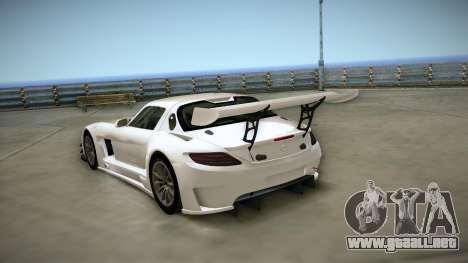 Mercedes-Benz SLS AMG GT3 para la visión correcta GTA San Andreas