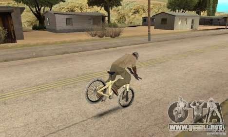 Specialized P.3 Mountain Bike v 0.8 para GTA San Andreas vista hacia atrás