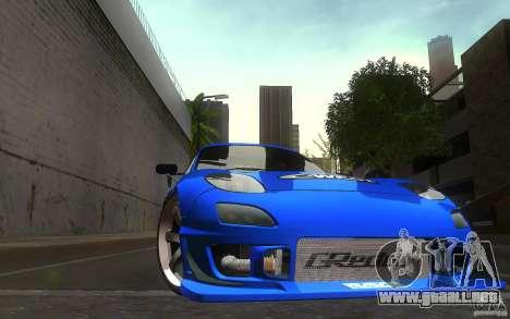 Mazda Rx7 C-West para vista lateral GTA San Andreas