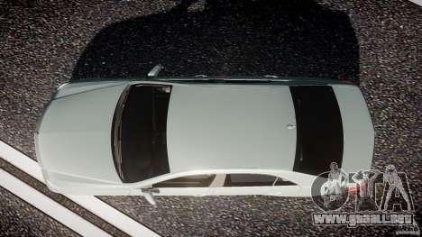Mercedes-Benz E63 2010 AMG v.1.0 para GTA 4 visión correcta