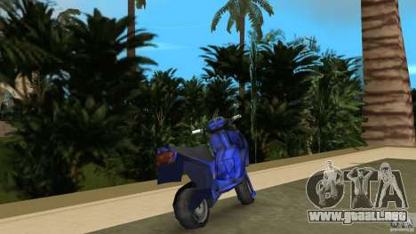 Aprilla SR 50 Racing para GTA Vice City vista lateral izquierdo