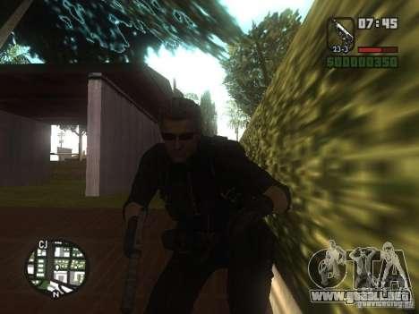 Wesker de RE5 para GTA San Andreas tercera pantalla