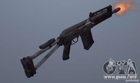 Izhmash Saiga-12K para GTA San Andreas segunda pantalla