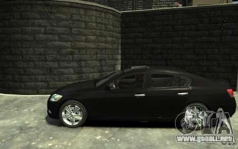 Lexus GS450 2006 para GTA 4 left