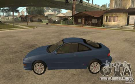 Honda Integra Type-R (Stock) para GTA San Andreas left