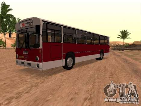 Mercedes-Benz O305 para vista lateral GTA San Andreas