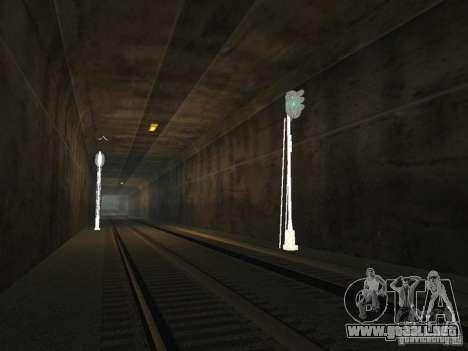 Luces de tráfico ferroviario 2 para GTA San Andreas sucesivamente de pantalla