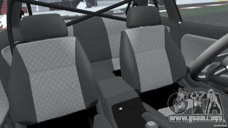 Nissan Silvia S13 Non-Grata [Final] para GTA 4 vista interior