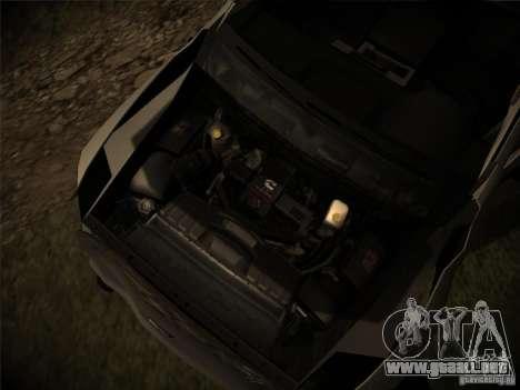 Dodge Ram 3500 4X4 para la vista superior GTA San Andreas