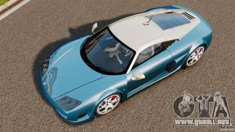 Noble M600 Bicolore 2010 para GTA 4 visión correcta