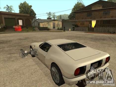 El guión de CLEO: Super coche para GTA San Andreas segunda pantalla