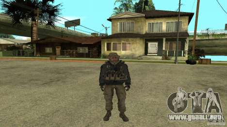 Captain Price para GTA San Andreas
