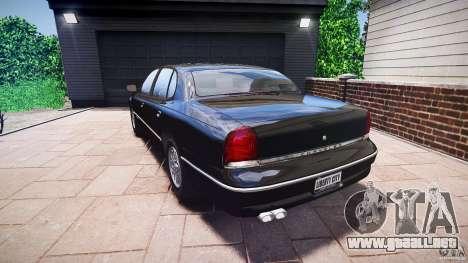 Chrysler New Yorker LHS 1994 para GTA 4 Vista posterior izquierda