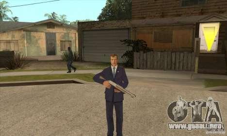 Dmitry Anatolyevich Medvedev para GTA San Andreas tercera pantalla