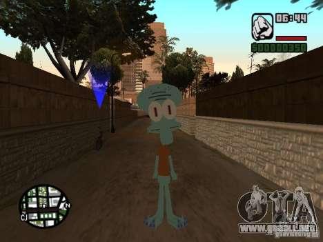 Calamardo para GTA San Andreas segunda pantalla