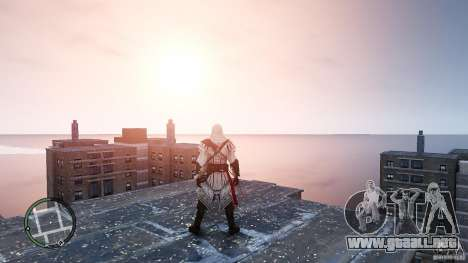 Assassins Creed II Ezio para GTA 4 segundos de pantalla