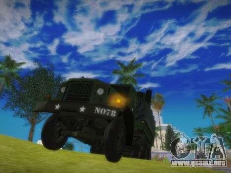 AM General M35A2 para la visión correcta GTA San Andreas