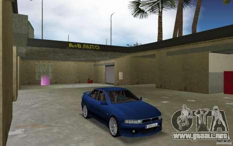 Mitsubishi Galant para GTA Vice City vista posterior