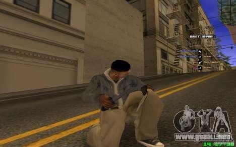 Para romper el hielo (azul) para GTA San Andreas segunda pantalla