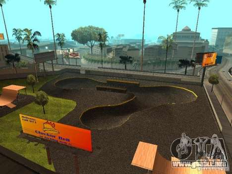 New SkatePark para GTA San Andreas