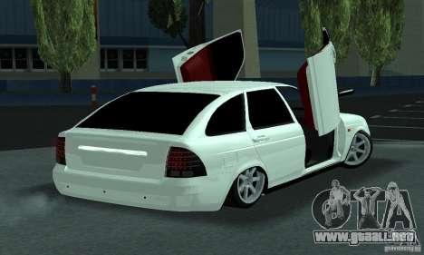 Lada Priora Lambo para la visión correcta GTA San Andreas