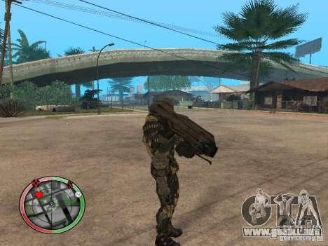 Armas exóticas de Crysis 2 v2 para GTA San Andreas segunda pantalla