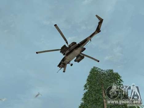 MI 28 HAVOC para visión interna GTA San Andreas