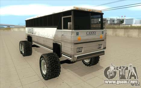 Bus monster [Beta] para GTA San Andreas