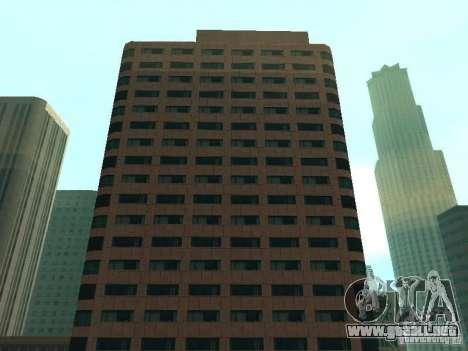 DownTown NEW para GTA San Andreas sucesivamente de pantalla