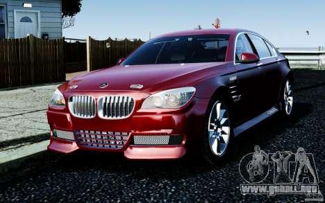 Pantallas de menú y arranque HAMANN BMW en GTA 4 para GTA San Andreas