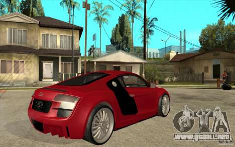 Audi R8 5.2 FSI custom para la visión correcta GTA San Andreas