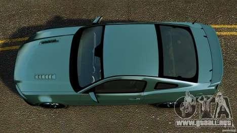 Ford Mustang Boss 302 2013 para GTA 4 visión correcta