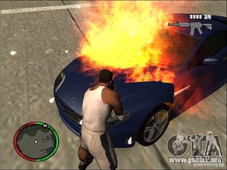 Auto extinguir un extintor de incendios para GTA San Andreas
