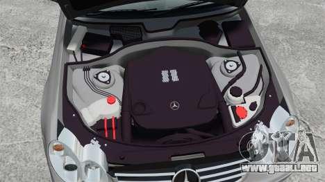 Mercedes-Benz CLK 55 AMG Stock para GTA 4 vista interior