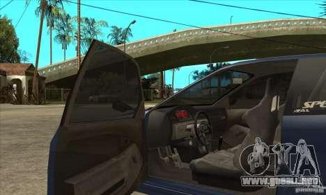 Honda Civic EG6 para visión interna GTA San Andreas