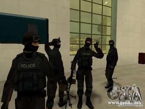 Ayuda Swat para GTA San Andreas segunda pantalla