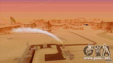 Trampas de calor para Hunter para GTA San Andreas tercera pantalla