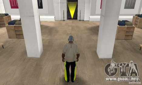 Pantalones para GTA San Andreas tercera pantalla