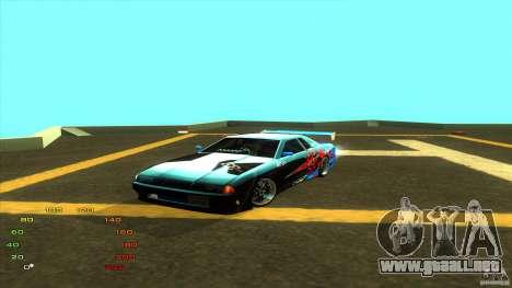 Paquete de vinilo para Elegy para GTA San Andreas octavo de pantalla