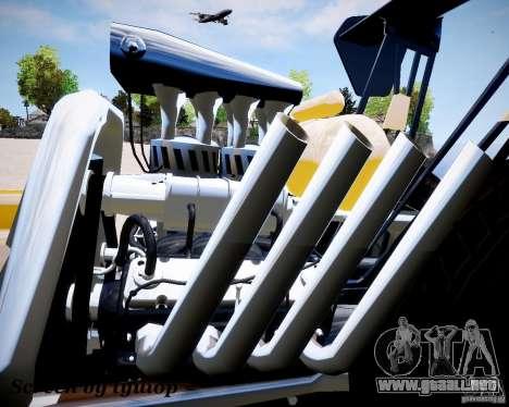 Raketomobil′ para GTA 4 Vista posterior izquierda