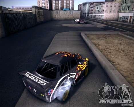 Trabant drag para GTA San Andreas vista posterior izquierda