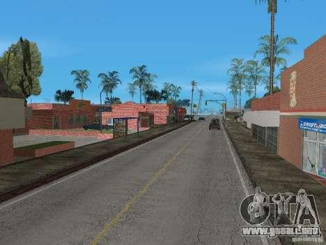 Nuevo Groove Street para GTA San Andreas sexta pantalla