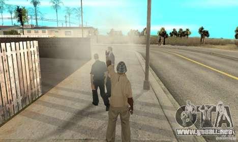 SuperClon (clonación personas en SAN ANDREAS) para GTA San Andreas séptima pantalla