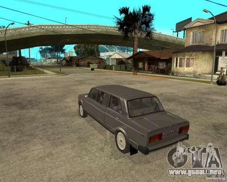 VAZ 2105 Limousine para GTA San Andreas left