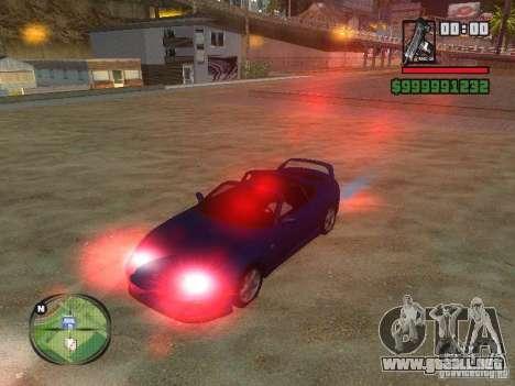 Xenon v3.0 para GTA San Andreas segunda pantalla