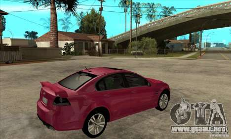 Chevrolet Lumina SS para la visión correcta GTA San Andreas