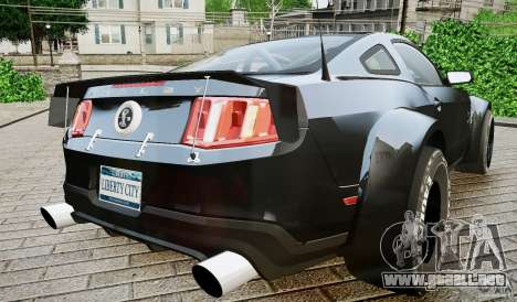 Ford Shelby GT500 para GTA 4 left