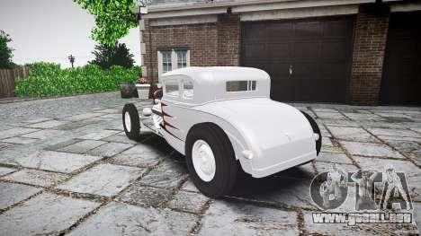 Ford Hot Rod 1931 para GTA 4 Vista posterior izquierda